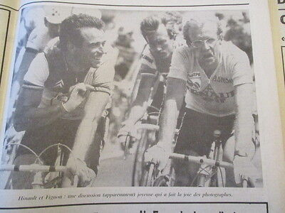 VELO : LAURENT FIGNON GAGNE LE TOUR DE FRANCE 1984 23/07/1984 - ADL
