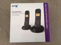 BT Everyday Cordless Phone - twin