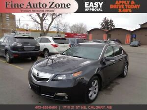 2012 Acura TL w/Tech Pkg Leather,Navigation Sunroof B.CAM