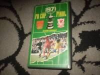 1971 f a cup final arsenal v liverpool vhs bbc
