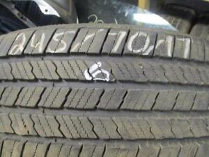245/70R17 PAIR  USED MICHELIN A/S TIRES