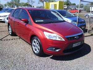 2011 Ford Focus LV Mk II LX Red 4 Speed Sports Automatic Hatchback Holtze Litchfield Area Preview