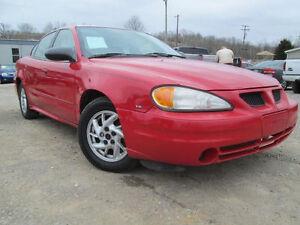 2001 Pontiac Grand Am SPORT PKG---EXCELLENT SHAPE-ALL NEW TIRES
