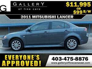 2011 Mitsubishi Lancer SE $99 BI-WEEKLY APPLY NOW DRIVE NOW
