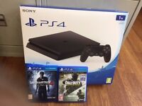 Playstation 4 1TB inc Games , Unwanted Christmas Present (boxed)