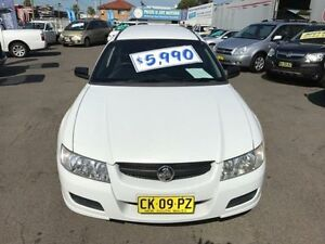 2006 Holden Commodore VZ Executive White 4 Speed Automatic Wagon Lansvale Liverpool Area Preview