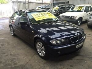 2005 BMW 318I E46 MY2004 Executive Blue 5 Speed Automatic Sedan Five Dock Canada Bay Area Preview