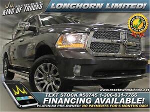 2014 Ram 1500 Longhorn Limited | PST PAID!
