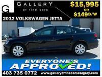 012 Volkswagen Jetta S $149 bi-weekly APPLY TODAY DRIVE TODAY