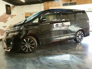 2012 Toyota Vellfire ANH20W Black Constant Variable Wagon Perth Perth City Area Preview
