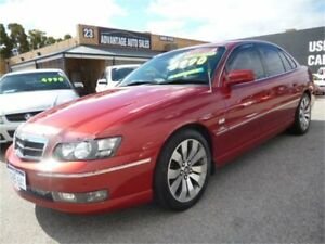 2004 Holden Caprice WL Burgundy 5 Speed Auto Active Select Sedan Wangara Wanneroo Area Preview