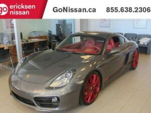 2015 Porsche Cayman CAYMAN S: 981S, VERY LOW KMS, ONE OWNER