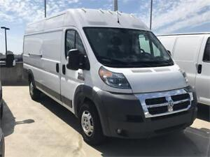 """2016 RAM PROMASTER 3500 Extended High Roof 159"""" WB"""