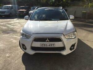 2013 Mitsubishi ASX XB MY14 White Constant Variable Wagon Merrylands Parramatta Area Preview