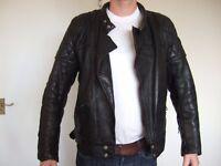TT Leathers Biker Jacket Size 46