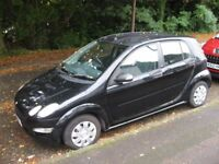 2005 SMART FOR-FOUR PULSE 1100 MANUAL ONE LADY OWNER POSS/ PART X