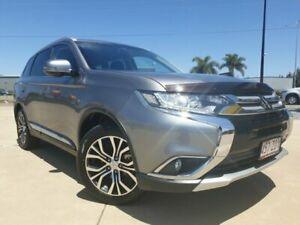 2016 Mitsubishi Outlander ZK MY16 LS 2WD Grey 6 Speed Constant Variable Wagon Garbutt Townsville City Preview