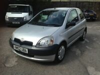TOYOTA YARIS 1.0 - VERY GOOD CHEAP CAR, LONG M.O.T - ONE FAMILY OWNED FROM NEW