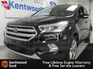 2017 Ford Escape Titanium 4WD ecoboost, sunroof, NAV, heated pow