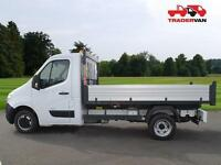 15 VAUXHALL Movano 2.3CDTi 125ps Single Cab Tipper DIESEL MANUAL
