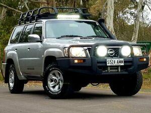 2010 Nissan Patrol GU 7 MY10 ST Silver 5 Speed Manual Wagon Littlehampton Mount Barker Area Preview