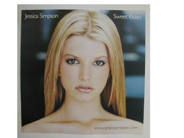 Jessica Simpson Poster Flat