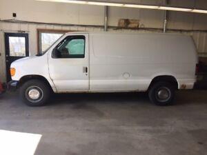 2006 E250 Cargo Van
