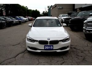 2015 BMW 3 Series CERTIFIED & E-TESTED! NAV SUNROOF LEATHER