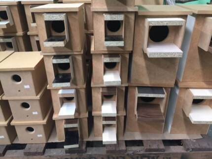BIRD BREEDING BOXES - BUDGIE - FINCH - PARROT - CANARY Jamisontown Penrith Area Preview
