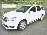 Dacia Logan 1.5 dCi Laureate 5dr Diesel Estate (white) 2014