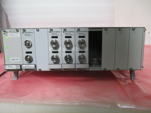 JDS Uniphase OWB10002 Optical Workbench Receiver, SWS15106, SWS15107, 418934
