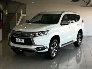 2018 Mitsubishi Pajero Sport QE MY18 GLS White 8 Speed Sports Automatic Wagon Ashmore Gold Coast City Preview