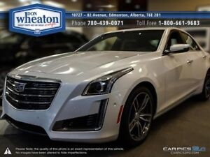 2017 Cadillac CTS Sedan V-Sport Car - Sunroof Bluetooth Rear Cam