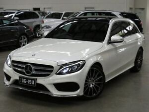 2015 Mercedes-Benz C250 S205 BlueTEC Estate 7G-Tronic + Diamond White Bright 7 Speed