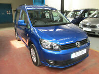 11 VOLKSWAGEN CADDY WHEELCHAIR ADAPTED INTERNAL TRANSFER TO DRIVE