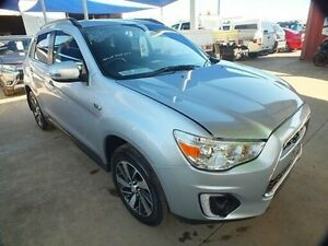 2014 Mitsubishi ASX XB MY15 LS (2WD) Silver Continuous Variable Wagon Bohle Townsville City Preview