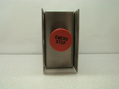 Emo Emergency Stop Button W Sst Box