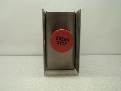 Emo Emergency Stop Button W Sst Box