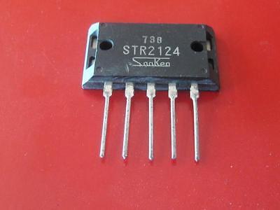 Sanken Str2124 Switching Regulator 10a  2 Pcs  New