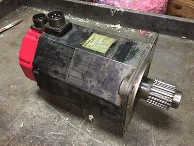 GE Fanuc Model 10S/3000 AC Servo Motor, # A06B-0317-B002 #7000, Used, WARRANTY