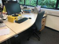 7 Fantastic large office desks for sale. Great condition!