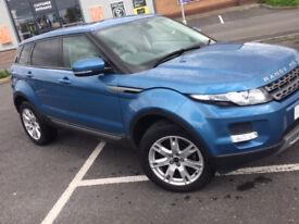 Land Rover Range Rover Evoque, 2 Wheel Drive, Diesel, 5 Door, Manual, FSH, New Cam Belt at 140k