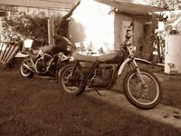OLD UNWANTED MOTORCYCLES, SNOWMOBILES, ATVs and or LAWN TRACTORS