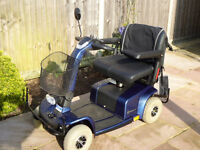 Mobility Scooter - Little Used Celebrity 4X - New Batteries - Full Weather Gear