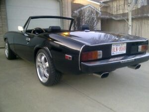 1973 Jensen Healey Roadster - Convertible $19,900   Gloss Black