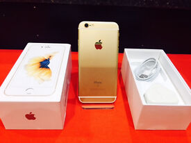 APPLE IPHONE 6S GOLD 16GB UNLOCKED WITH 12 MONTH WARRANTY
