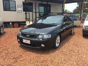 2005 Ford Falcon XR6 Turbo Black 4 Speed Auto Active Select Sedan Hidden Valley Darwin City Preview