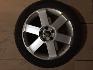 "17"" Audi wheels and tires $500"