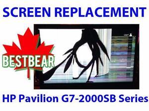 Screen Replacment for HP Pavilion G7-2000SB Series Laptop