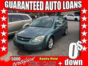 2009 Chevrolet Cobalt $0 Down All Credit Accepted!